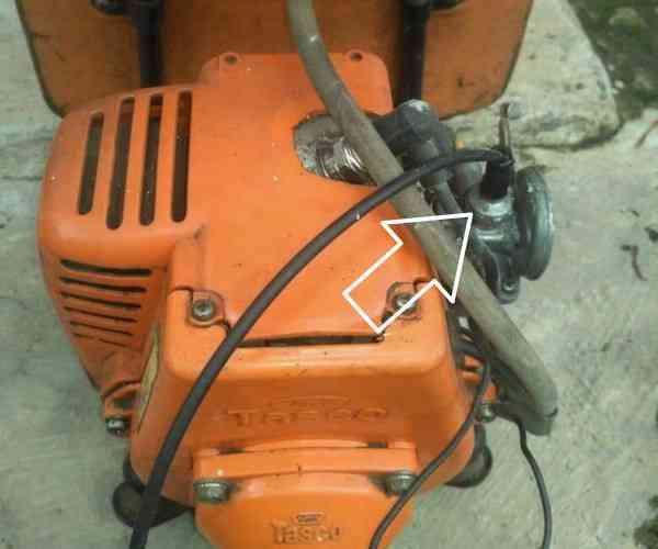 cara+pasang+kabel+gas+mesin+potong+rumput