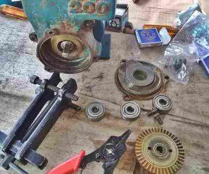 cara+mengganti+bearing+pompa+air