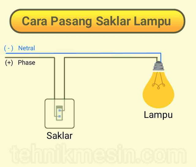 cara+pasang+saklar+lampu